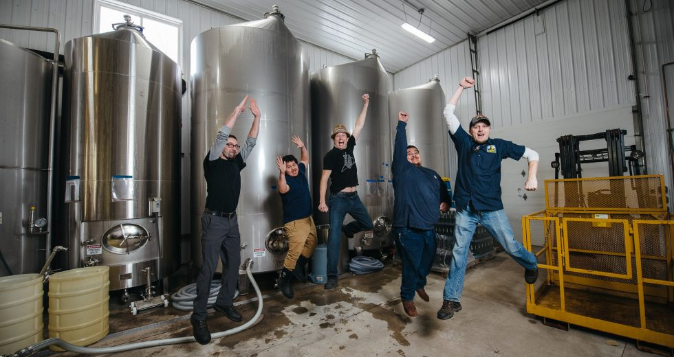 Michigan Sparkling wine, Mawby, jump production crew