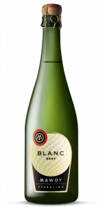 bottle shot, Blanc, sparkling wine, Michigan