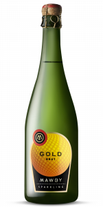 bottle shot, Gold, Sparkling wine, Michigan