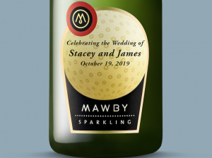 custom labels, weddings, corporate gifts, Michigan Sparkling Wine