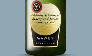 custom wine labels, gifts, weddings, Michigan's Sparkling wine